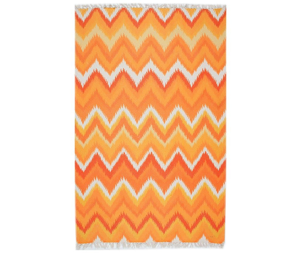 Tepih Geometric Lines Orange 80x150 cm