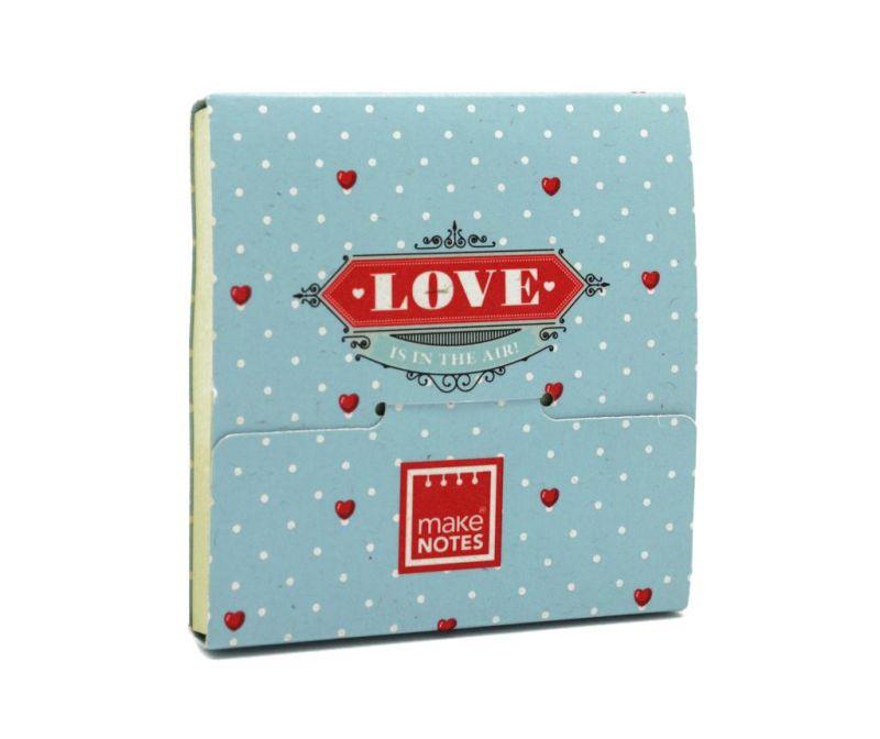 Blokec z lepilnimi lističi Love