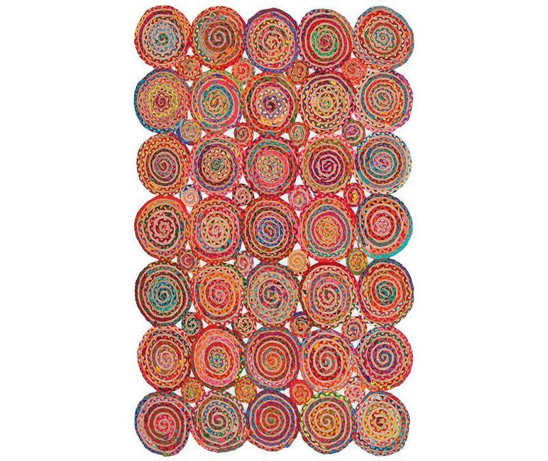 Covor Spiral Cluster Multi 120x180 cm