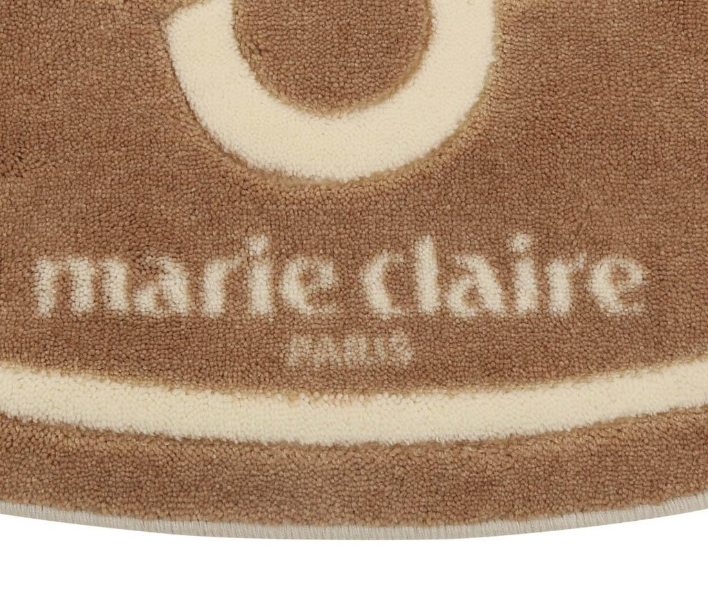 Kupaonski tepih Marie Claire Reba Brown 66x107 cm