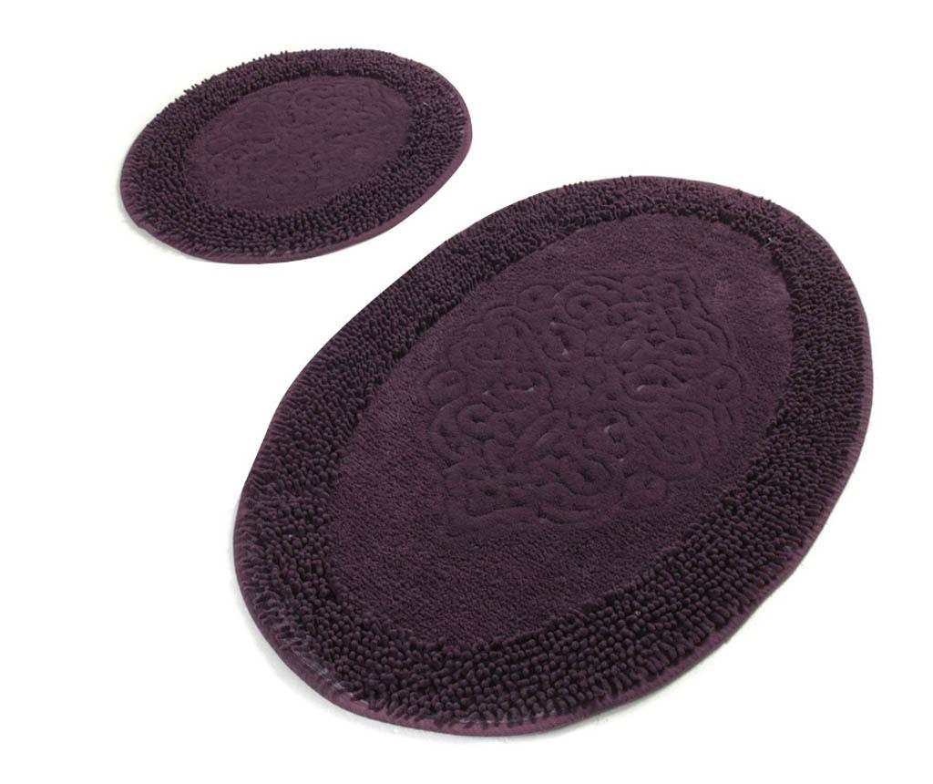 Holly Round Purple 2 db Fürdőszobai szőnyeg