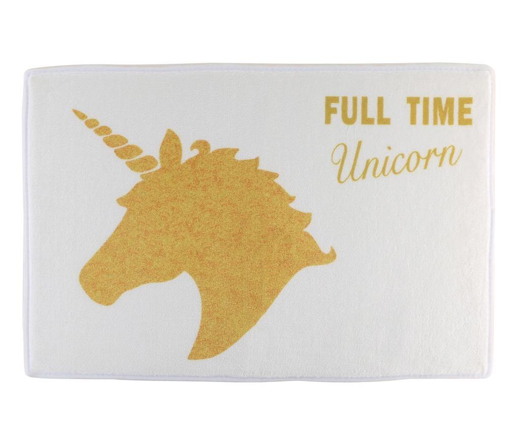 Full Time Unicorn Fürdőszobai szőnyeg 40x60 cm