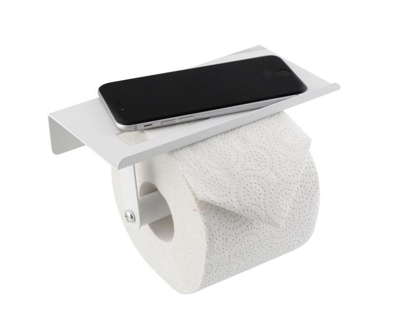 Držač za toaletni papir Space White