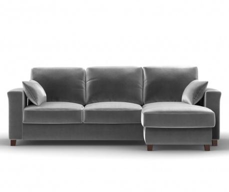 Coltar extensibil dreapta Relax Light Grey