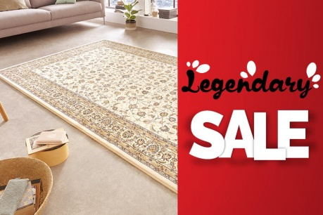 Legendary Sale: Koberce