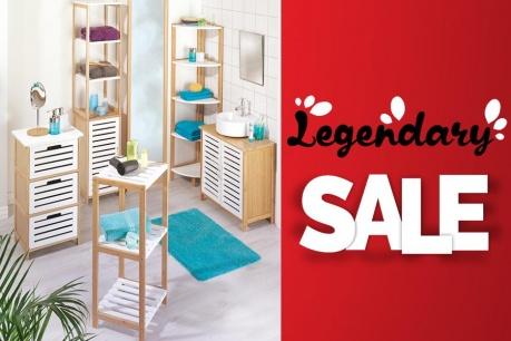 Legendary Sale:  Баня и организация