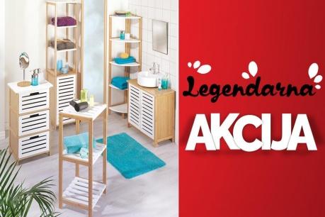 Legendarna Akcija: Kopalnica in organiziranje