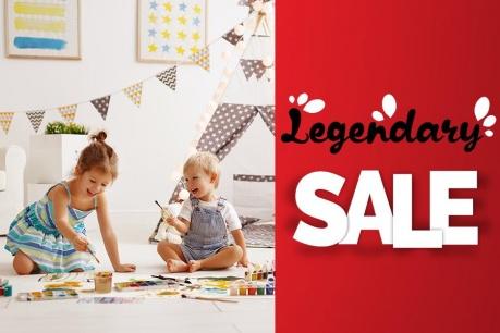 Legendary Sale: Всичко за децата