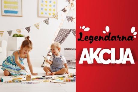 Legendarna Akcija: Vse za otroke