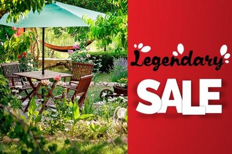 Legendary Sale: Градина и екстериор