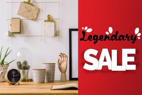 Legendary Sale: Dekorácie