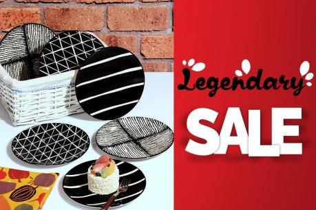 Legendary Sale: Kuchyňa a stolovanie