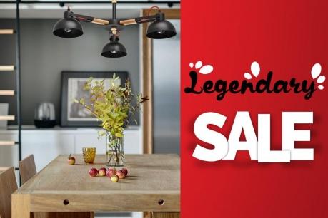 Legendary Sale : Осветителни тела