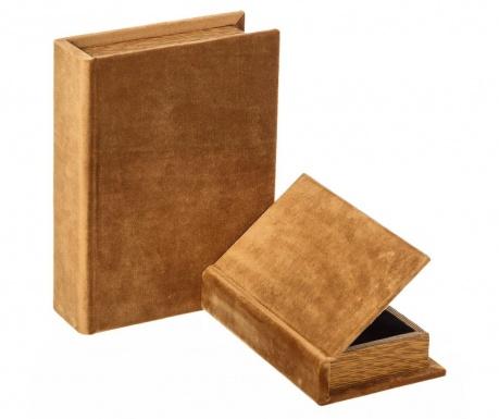Set 2 kutije tipa knjige Vintage
