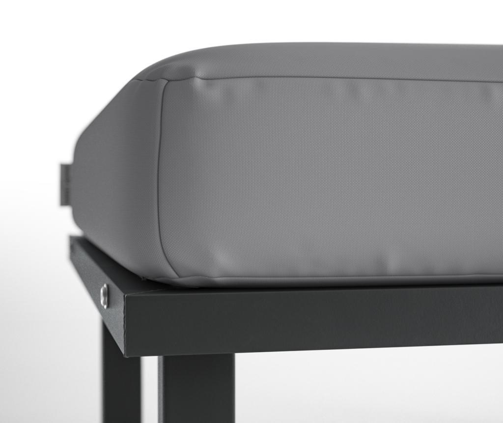 Scaun pentru exterior Mark Grey
