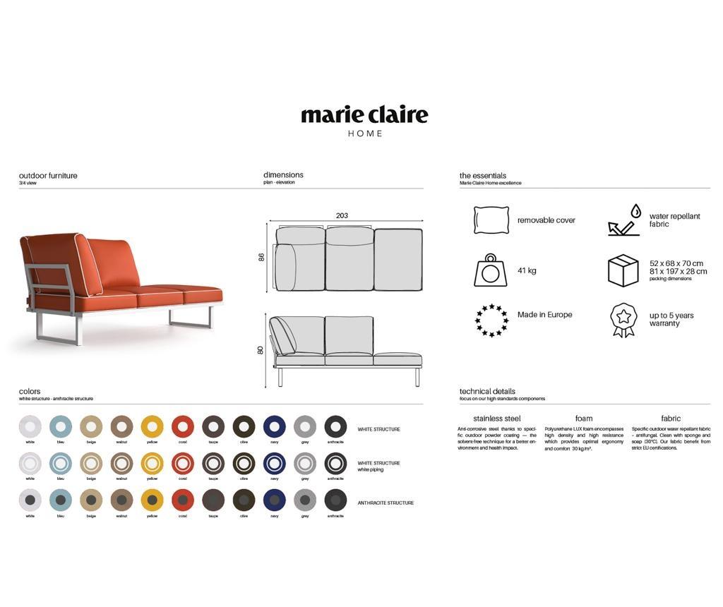 Стол за екстериор Marco Blue