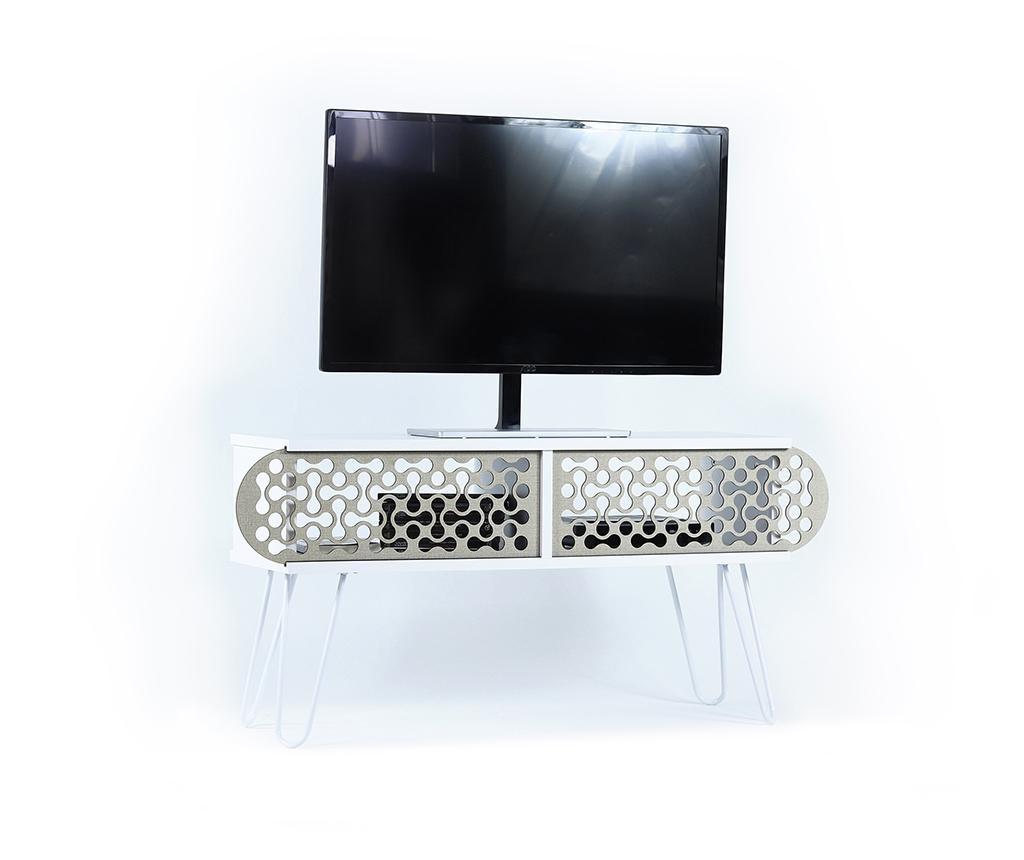 Illia White Shapes TV Komód