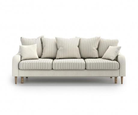 Benito Kongo Beige Háromszemélyes kihúzható  kanapé