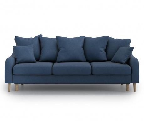 Benito Orinoco Dark Blue Háromszemélyes kihúzható  kanapé