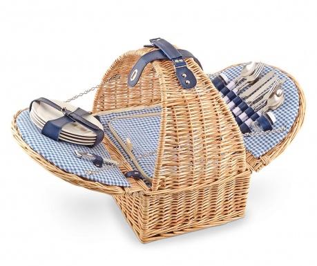 Košara za piknik s priborom za 4 osobe Smart