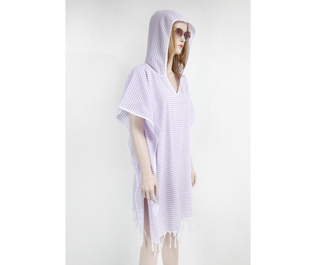 Sukienka plażowa Peshtemal Thin Striped Lilac