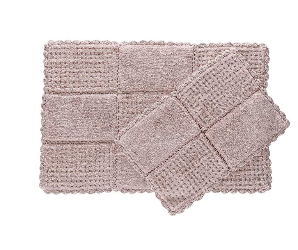 Hola Pink 2 db Fürdőszobai szőnyeg