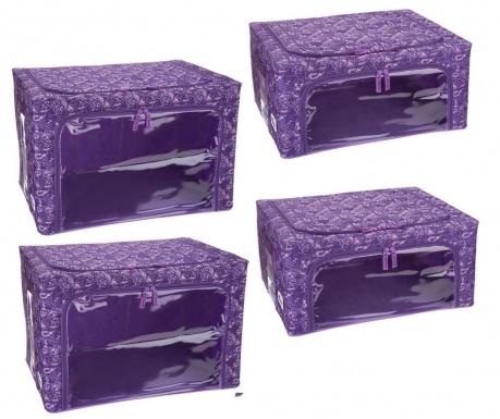 Set 4 organizatoare Lisa Purple