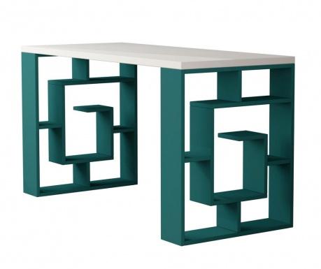 Maze White and Turquoise Íróasztal