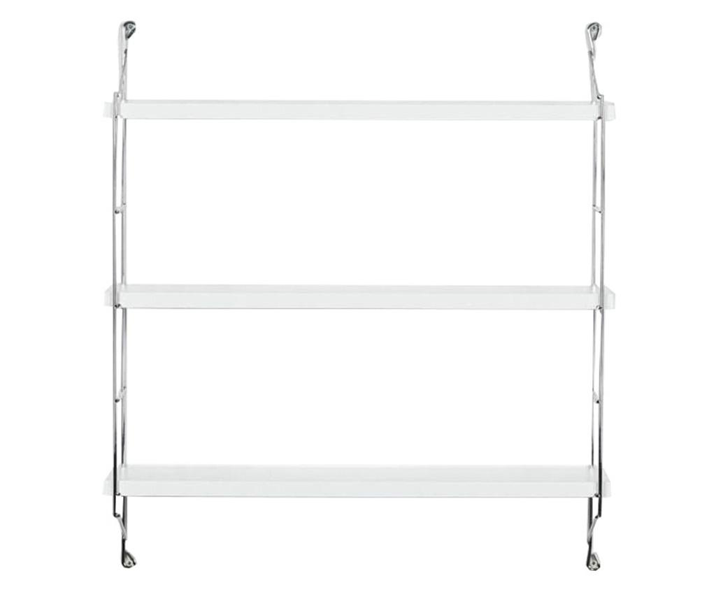 Zidna polica Illia Ladder White