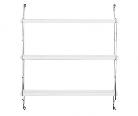Illia Ladder White Fali polc