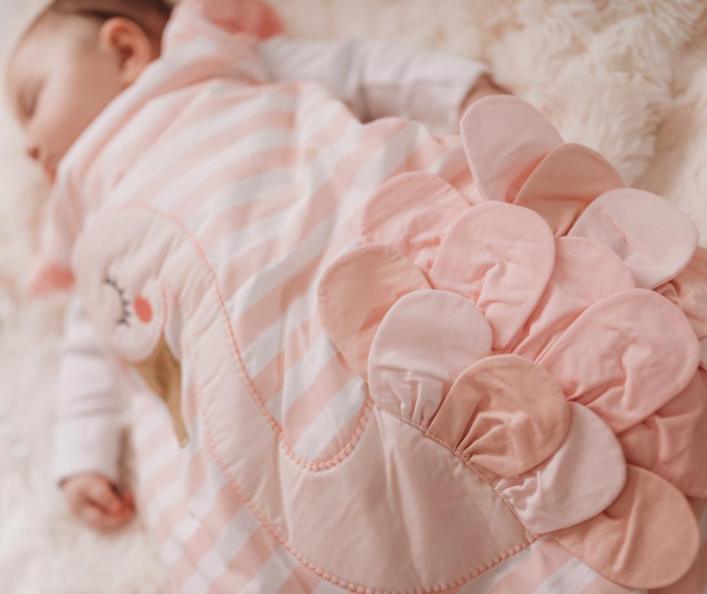 Sac de dormit Flora Flamingo 6-18 luni
