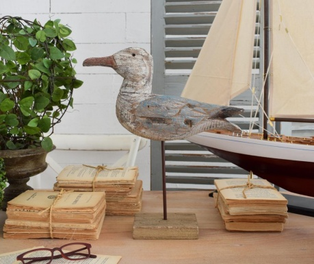Decoratiune Coastal Seagull
