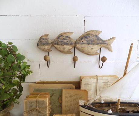 Cuier de perete Fish