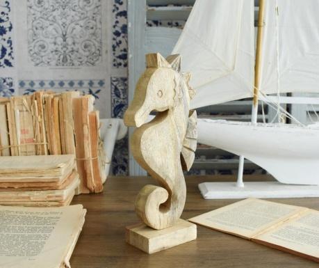 Decoratiune Seahorse Wood