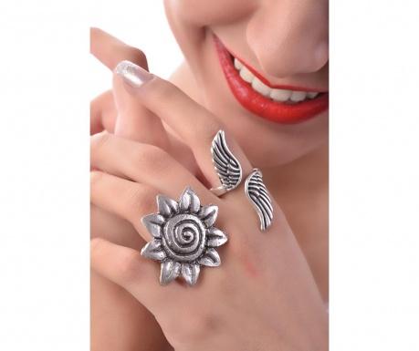 Комплект 2 пръстена Lovely