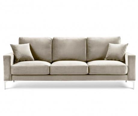 Lyrique Beige Háromszemélyes kanapé