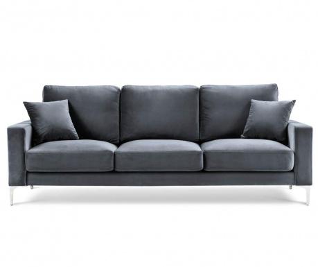 Lyrique Dark Grey Háromszemélyes kanapé