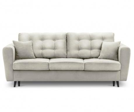 Chillout Beige Kihúzható háromszemélyes kanapé