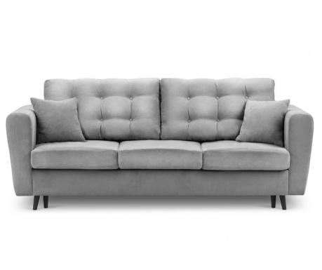 Chillout Light Grey Kihúzható háromszemélyes kanapé