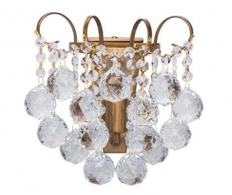 Stenska svetilka Ruth Honey Brass