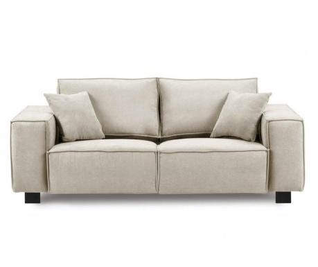 Modern Beige Kétszemélyes kanapé