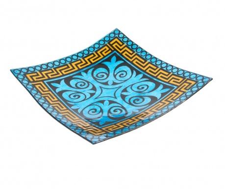 Podnos Blue Geometric