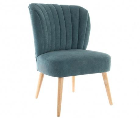 Kreslo Wood Turquoise