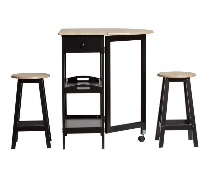 Комплект маса и 2 стола Auri