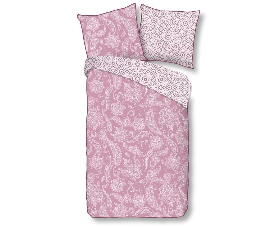 Posteljnina Single Sateen Cairo Pink