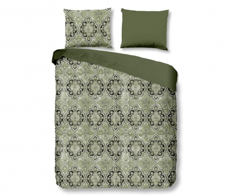 Posteljnina Double Sateen Rocco Green