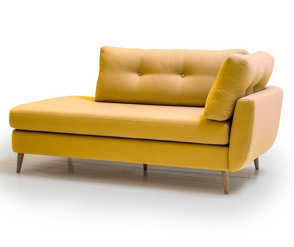 Levi počivalnik za dnevno sobo Harris Yellow