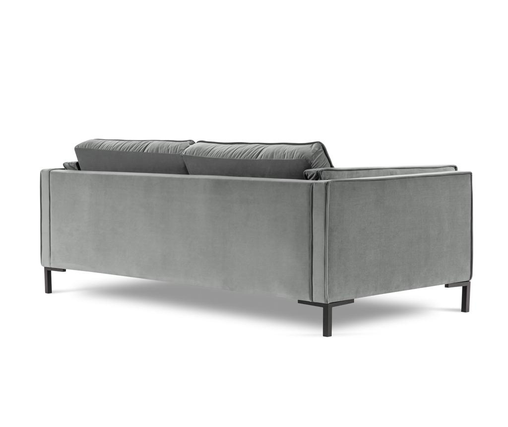 Canapea 3 locuri Luis Light Grey