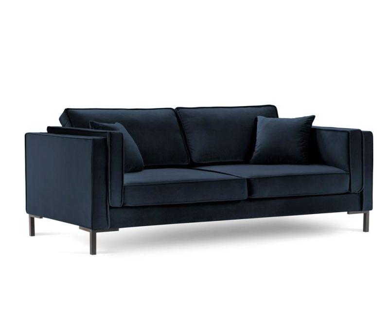 Canapea 4 locuri Luis Dark Blue
