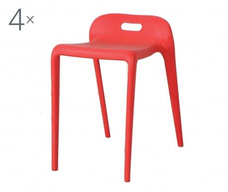 Set 4 scaune Simplita